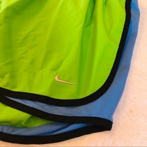 Nike Shorts - Green Nike Dry Fit Running Shorts - Large